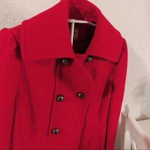 Maralyn & Me red coat